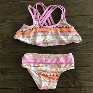 NWOT Jessica Simpson Baby Girl 12m 2pc bikini